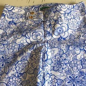 Lilly Pulitzer palm beach fit Capri floral 0